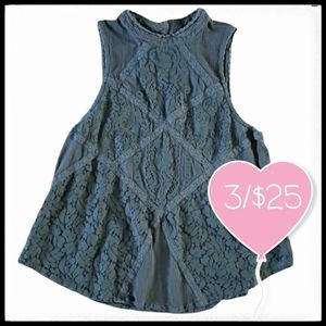 ⭐3/$25⭐ American Eagle Floral Lace Top
